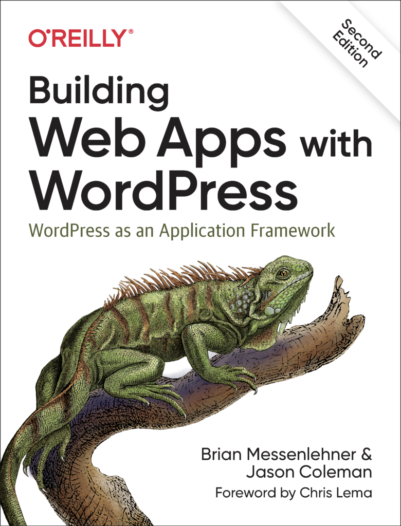 A book about building web apps with WordPress
